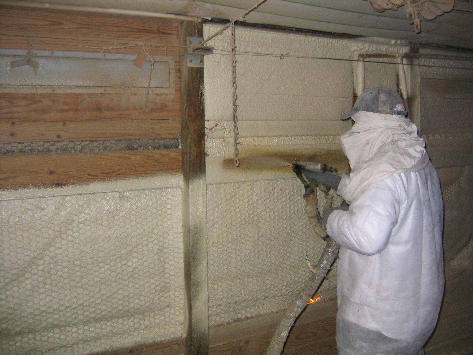 Spray Foam Insulation (Urethane)